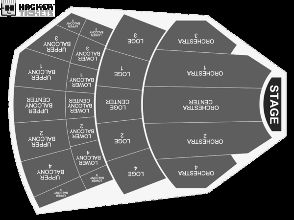 Ringo Starr and His All Starr Band seating chart