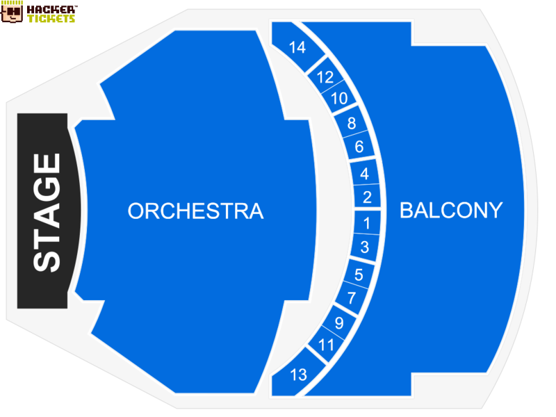 Town Hall seating chart